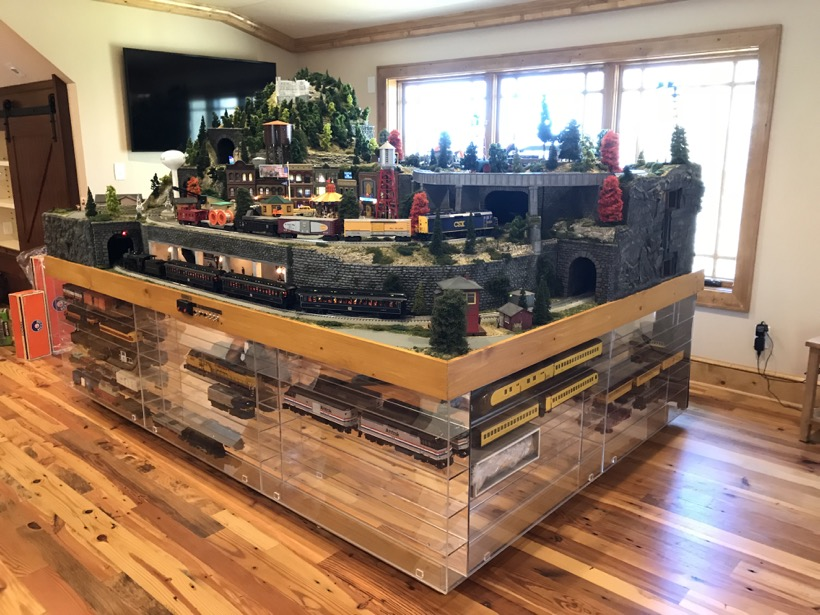 High Tech Lionel Railroad