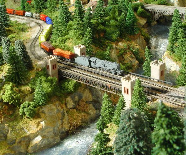 Z-Scale Railroad